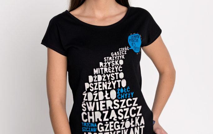 2 Learn Polish koszulka damska nadwyraz.com