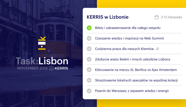 TaskLisbon_checklista