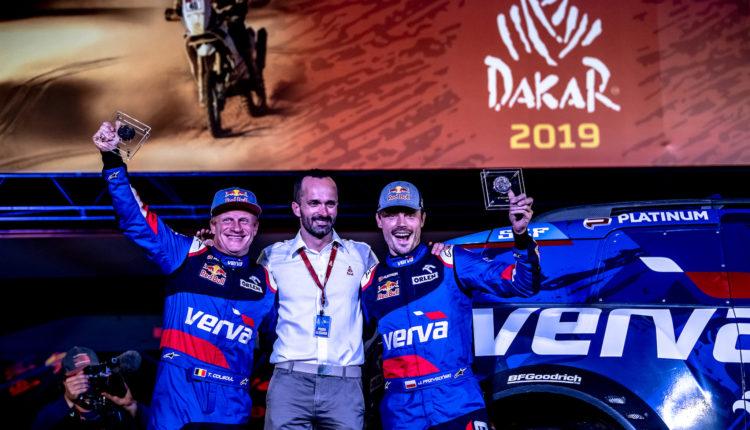 Dakar2019_ORLEN_Team_Kuba_Tom_Adam_podium (2)
