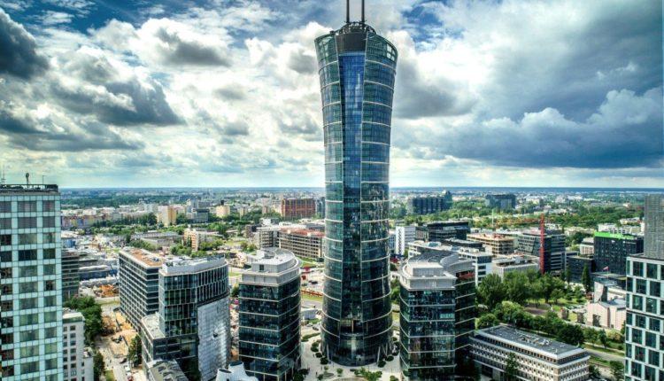 Warsaw Spire & Plac Europejski