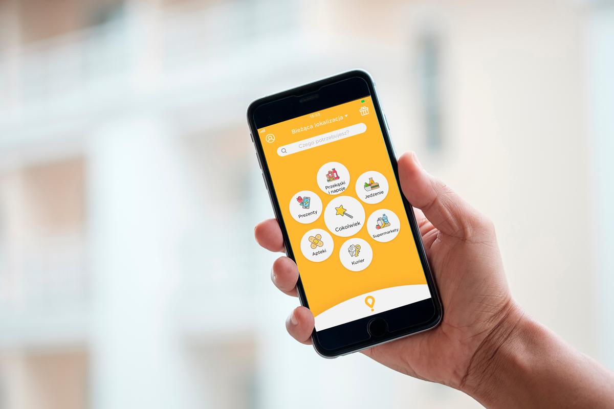 aplikacja Glovo jednorożec