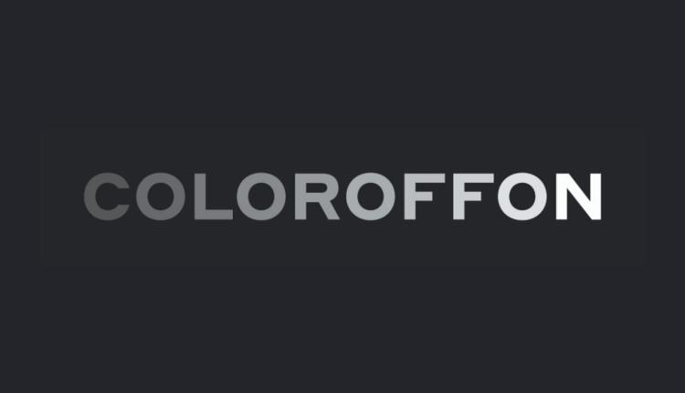 Coloroffon logo identyfikacja wizualna rebranding