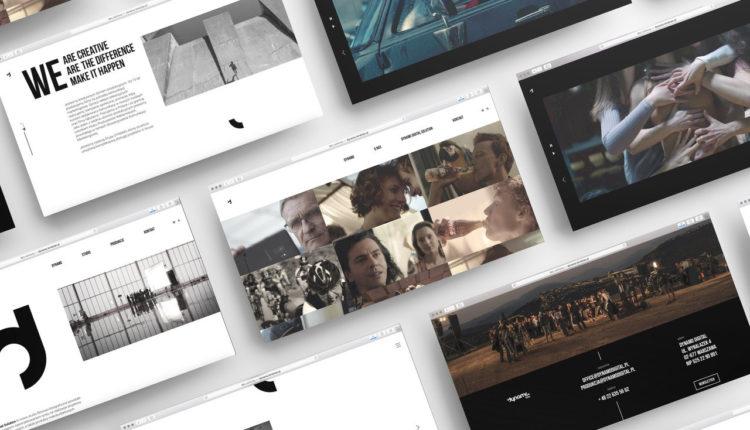 Dynamo identyfikacja wizualna www online