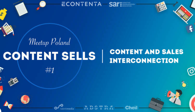 Meetup Content sells content marketing