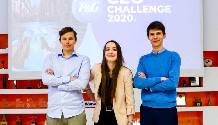 PG CEO Challenge zwyciezcy