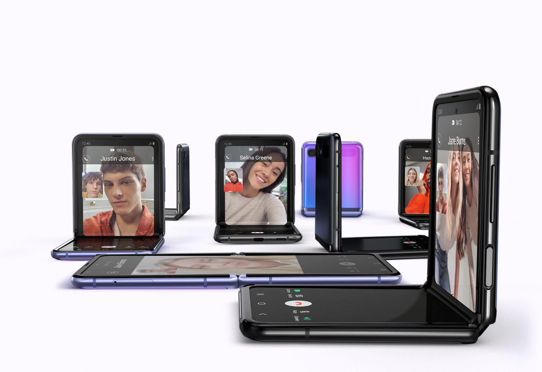 Samsung Galaxy Z Flip składany smartfon
