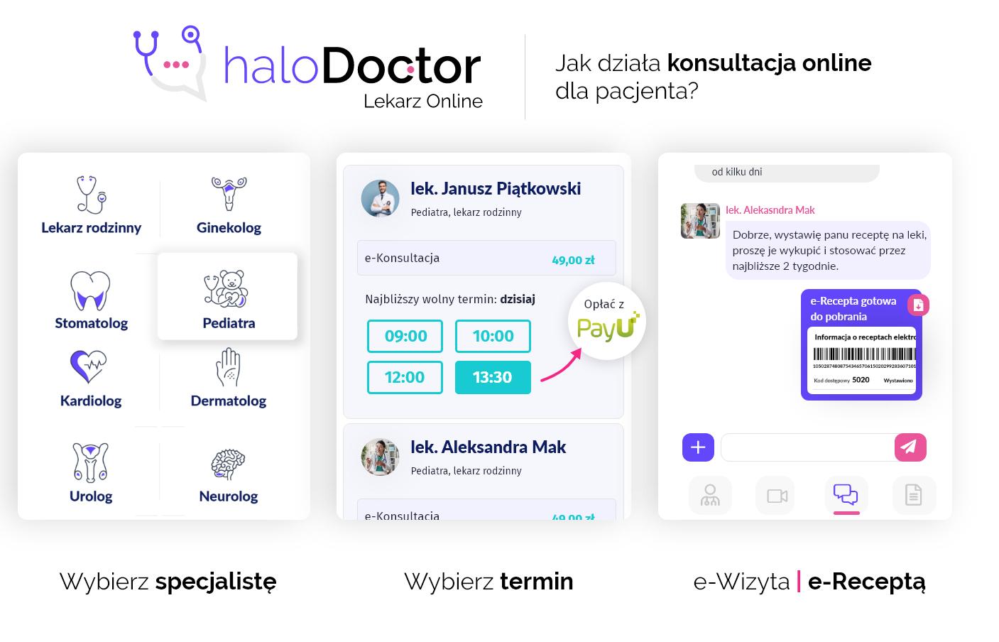 halodoctor.pl - e-wizyty. e-Recepta.