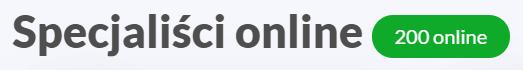 Specjaliści online