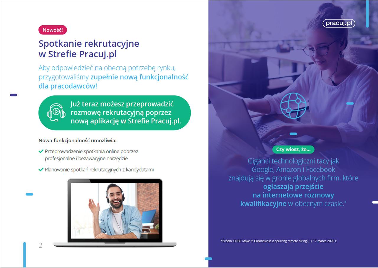 spotkanie rekrutacyjne online pracuj.pl
