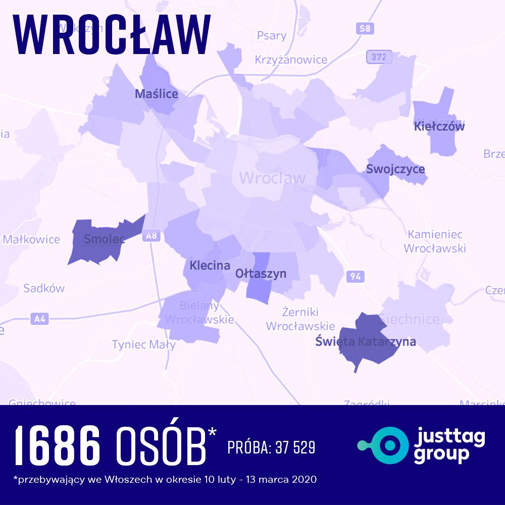 Wrocław ogniska COVID-19