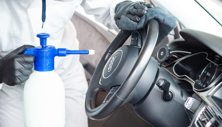 SteamUp dezynfekcja samochodu myjnia mobilna