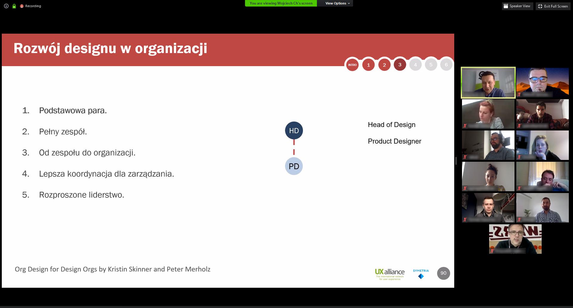 certyfikacja online Symetria UX
