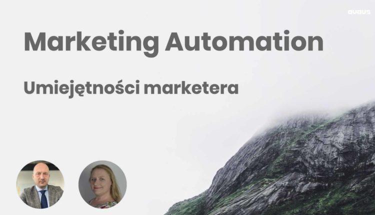 umiejetnosci marketera marketing automation