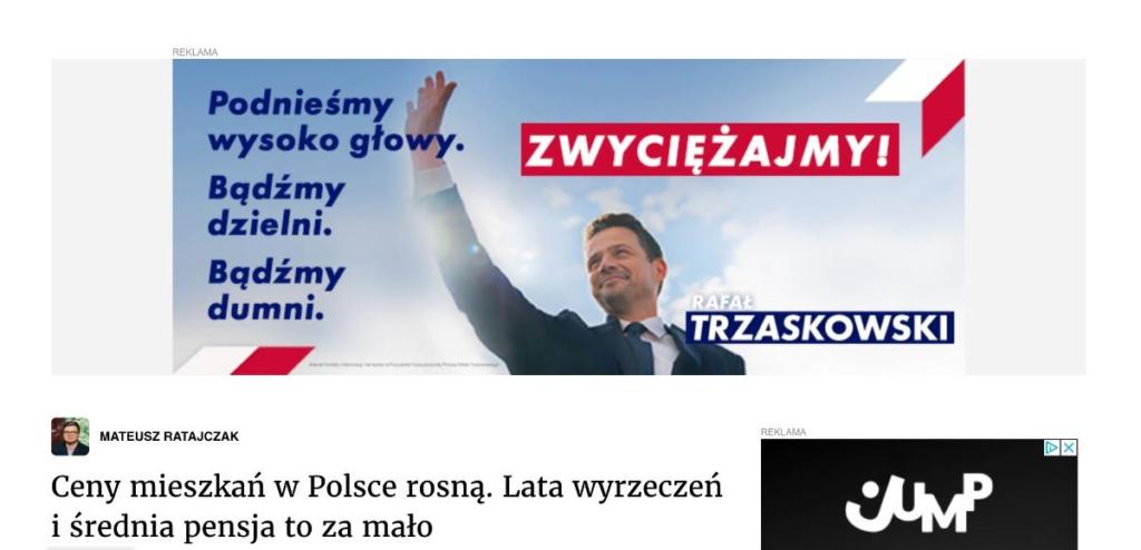 Rafał Trzaskowski kampania