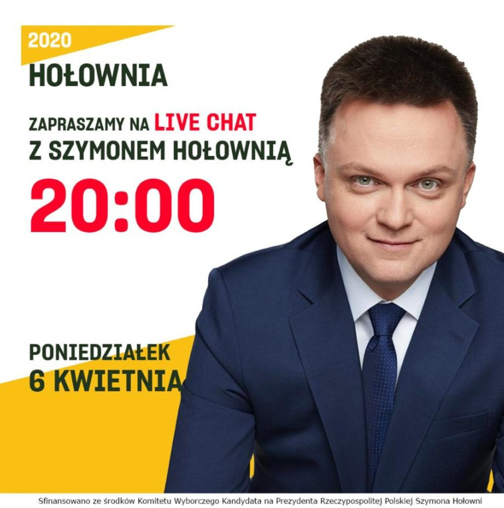 Szymon Hołownia live kampania