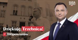 dziekuje Trzebnica 380 powiatow kampania POD