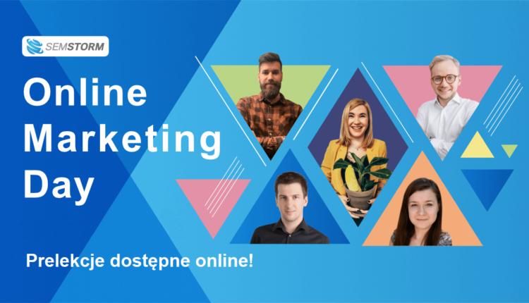 Online Marketing Day prelekcje online